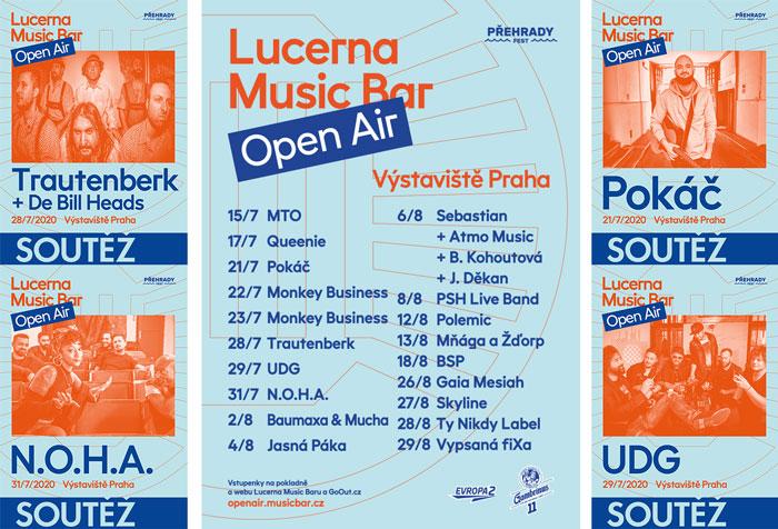 Soutěž o lístky na Lucerna Music Bar Open Air