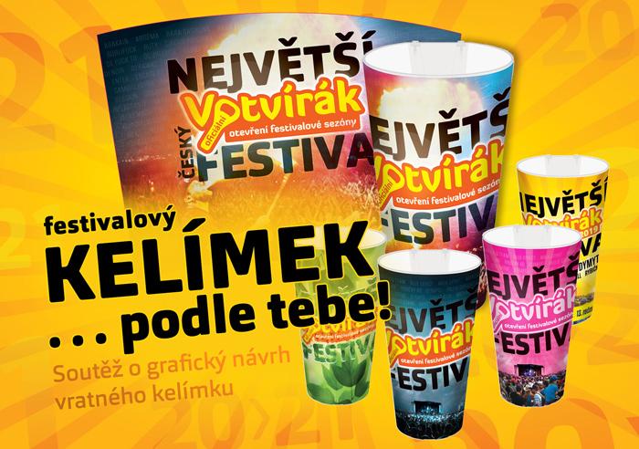 Navrhni svůj kelímek festivalu Votvírák 2021