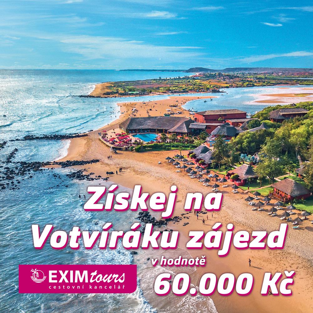 Na Votvíráku opět někoho pošleme na exotickou dovolenou!