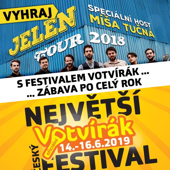 Soutěž o lístky na koncert skupiny Jelen