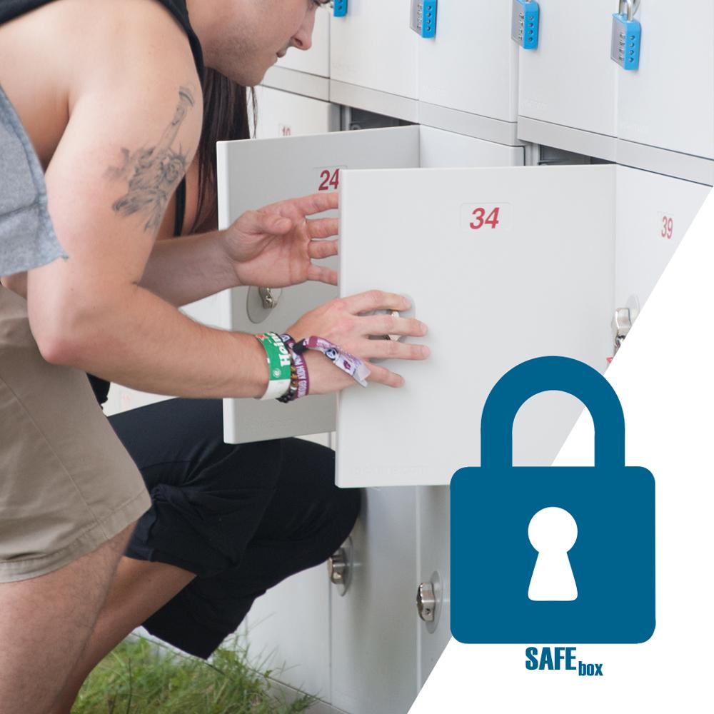 SafeBox Úschovna na festivalu Votvírák 2019
