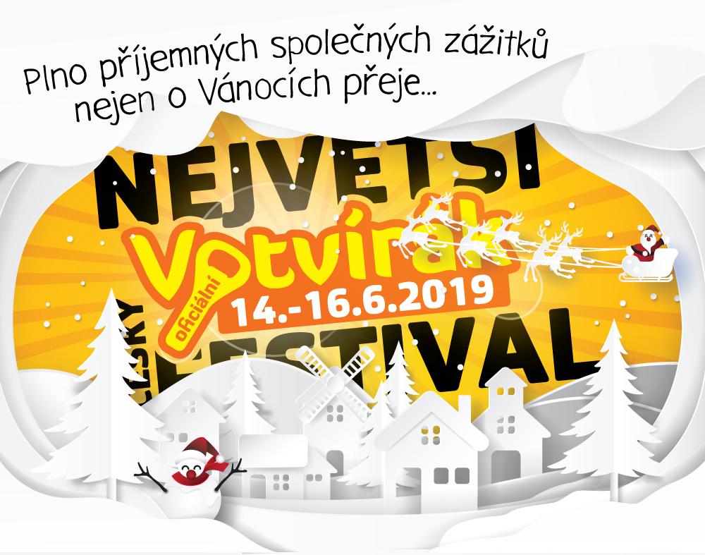 Vánoční přání od festivalu Votvírák