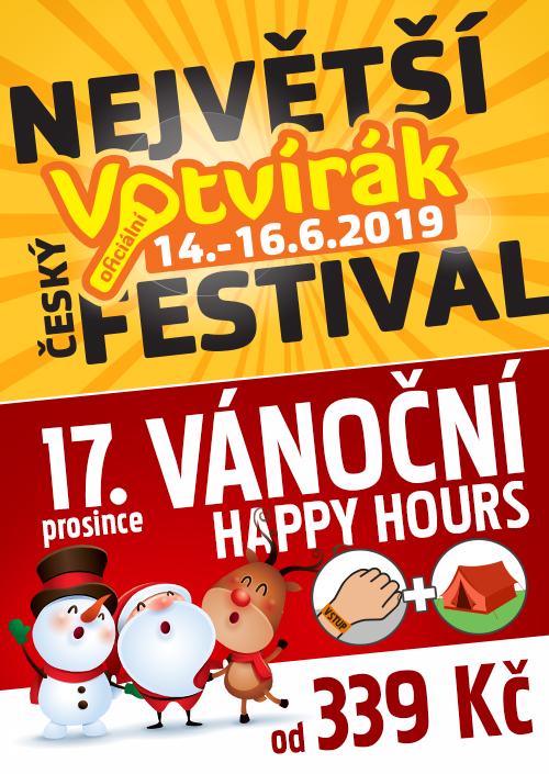 Vánoční happy hours Votvírák 2019