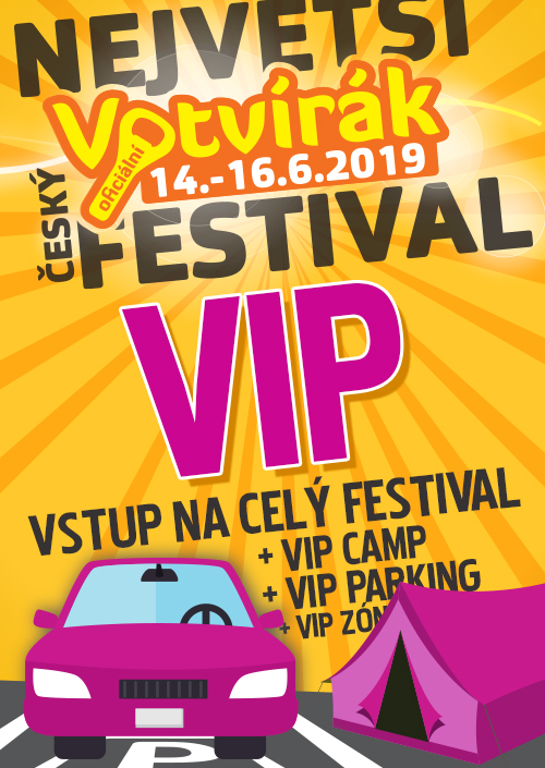 VIP votvírák 2019