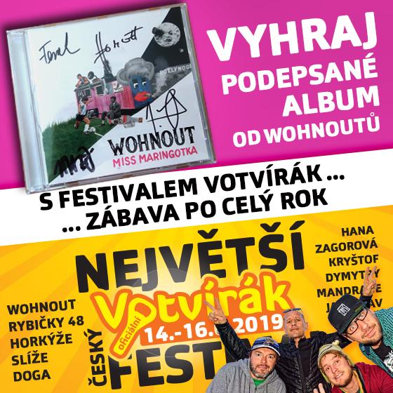 Soutěž o CD Miss Maringotka od Wohnoutů